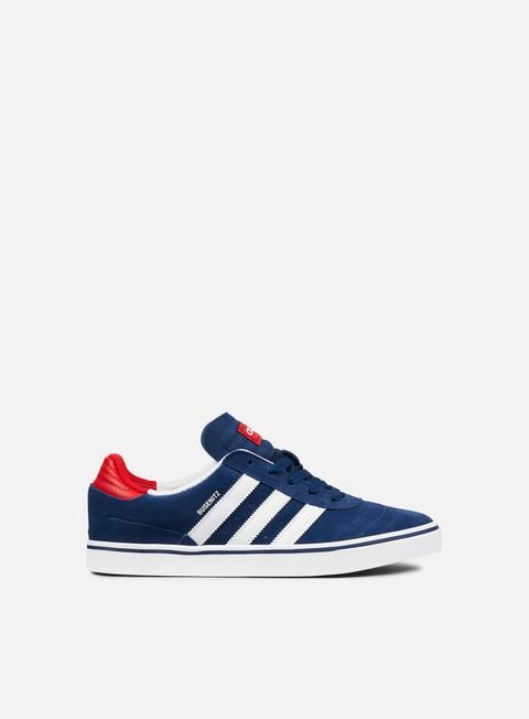 sneakers adidas skateboarding busenitz vulc adv mystery blue white scarlett