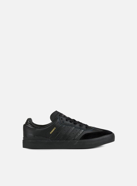 sneakers adidas skateboarding busenitz vulc samba edition core black core black dark grey solid grey