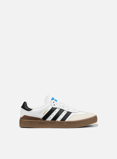 sneakers adidas skateboarding busenitz vulc samba edition white core black bluebird