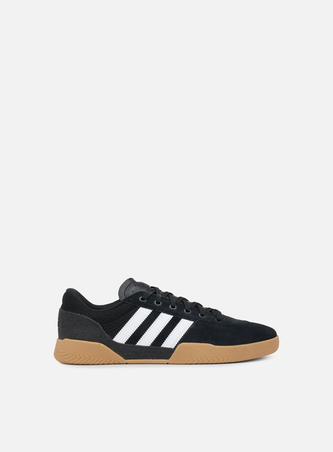sneakers adidas skateboarding city cup core black white gum