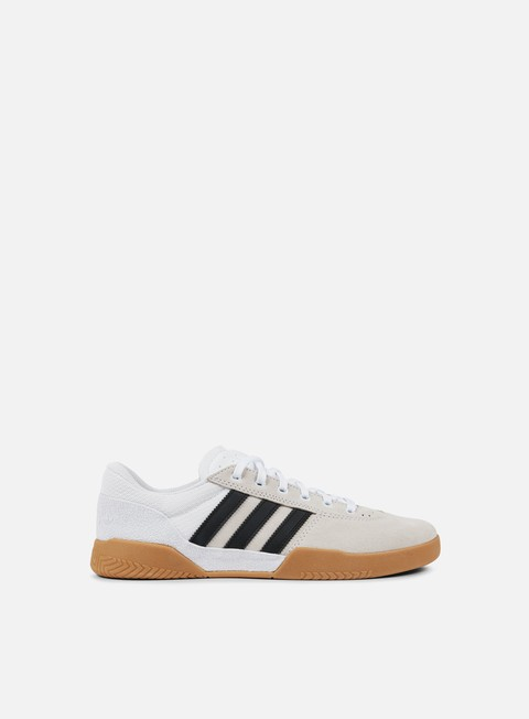 sneakers adidas skateboarding city cup white core black gum