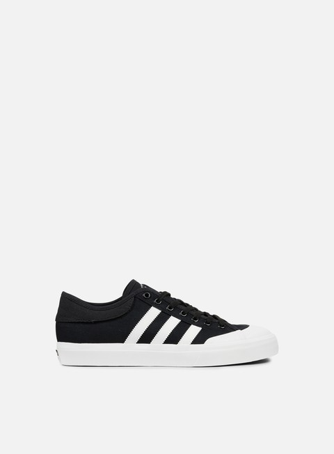 sneakers adidas skateboarding matchcourt core black white core black