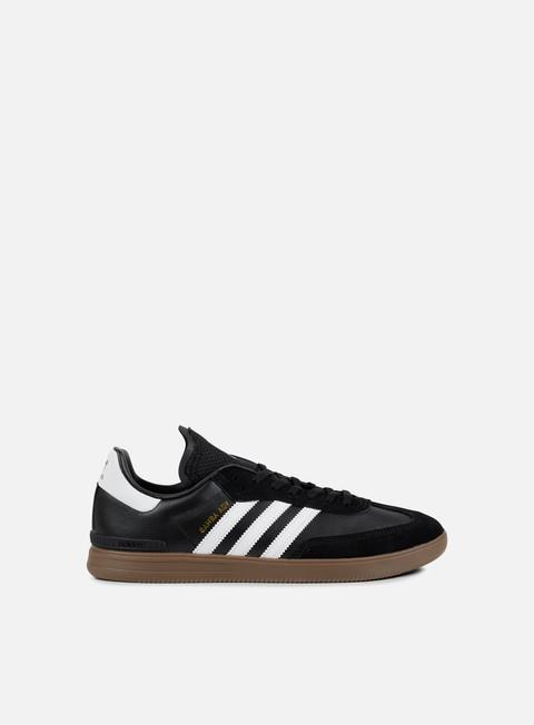 sneakers adidas skateboarding samba adv core black white gum