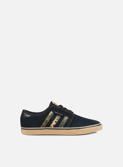 sneakers adidas skateboarding seeley core black cardboard gum