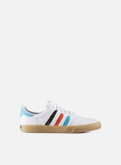 Adidas Skateboarding - Seeley Court, White/Energy Blue/Energy 1