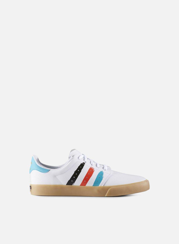 Adidas Skateboarding - Seeley Court, White/Energy Blue/Energy