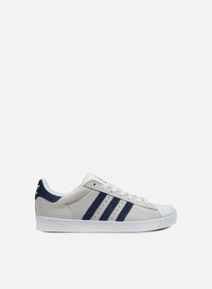 Adidas Skateboarding - Superstar Vulc ADV, Crystal White/Collegiate Navy/White