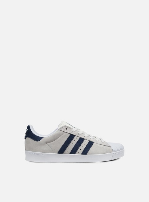 sneakers adidas skateboarding superstar vulc adv crystal white collegiate navy white