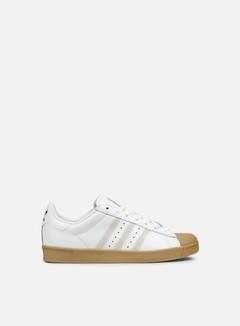 Adidas Skateboarding - Superstar Vulc ADV, Running White/Running White/Gum