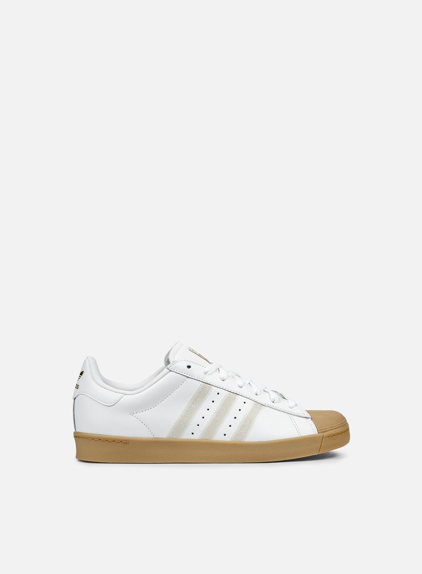 Cheap Adidas Superstar Vulc ADV Skate Shoes white/black/white Free