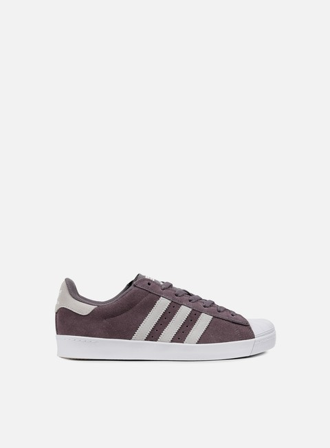 sneakers adidas skateboarding superstar vulc adv trace grey light solid grey white