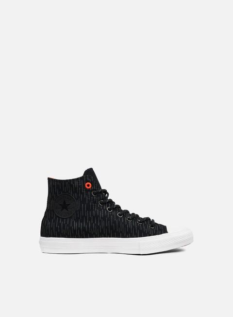 sneakers all star ii hi shield canvas black reflective lava