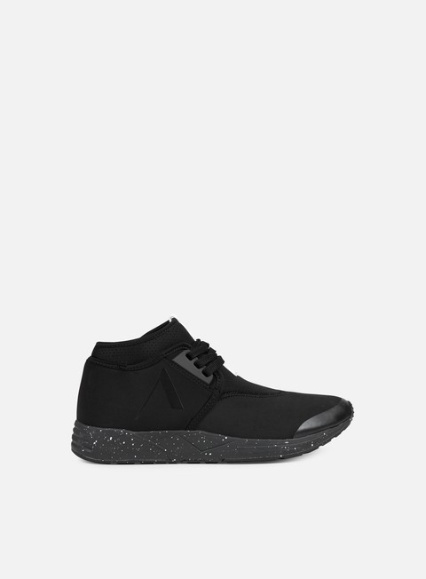 sneakers arkk falcon black spray perforated