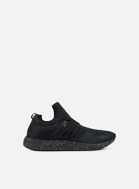 sneakers arkk raven all black spray