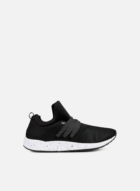 sneakers arkk raven black spray perforated