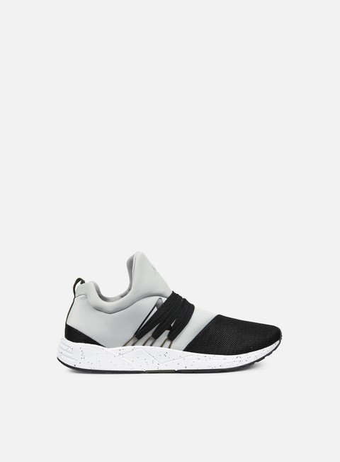 sneakers arkk raven light grey black