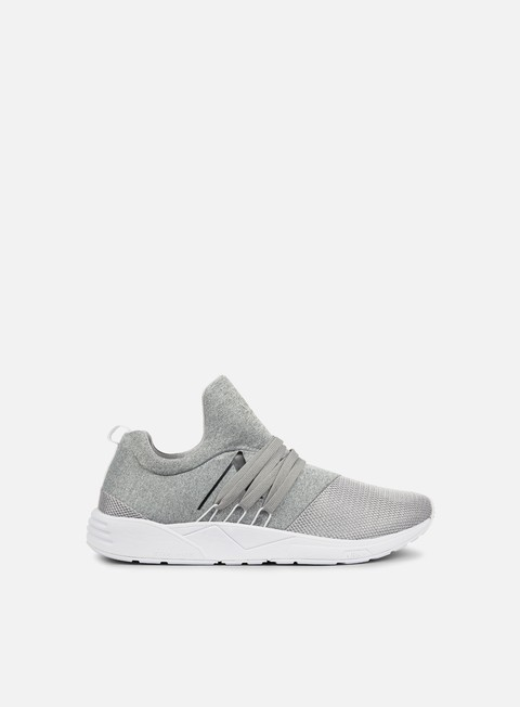 sneakers arkk raven light grey melange mesh