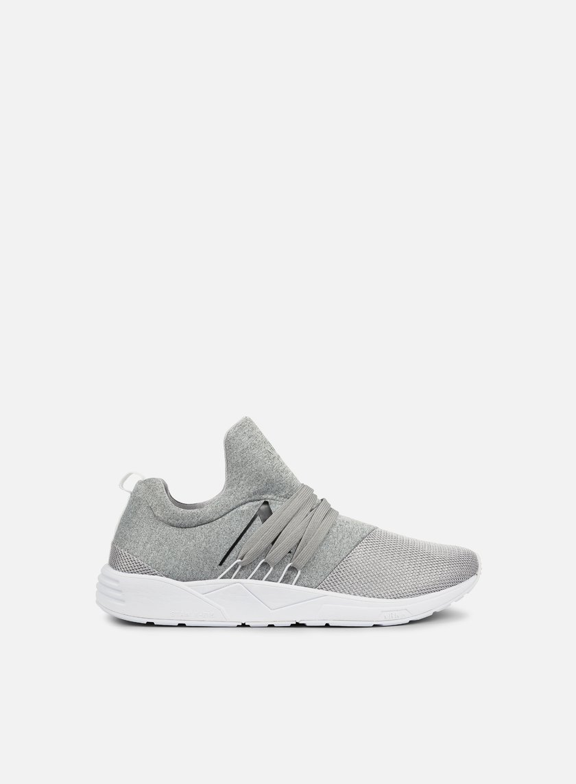 ARKK - Raven, Light Grey Melange Mesh