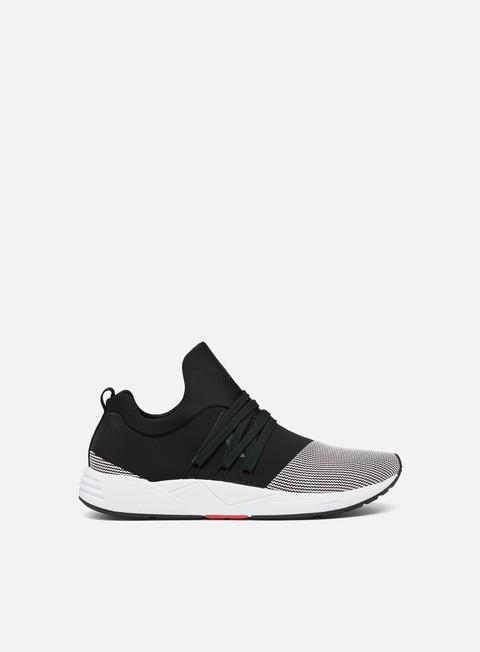 sneakers arkk raven mesh s e15 black white