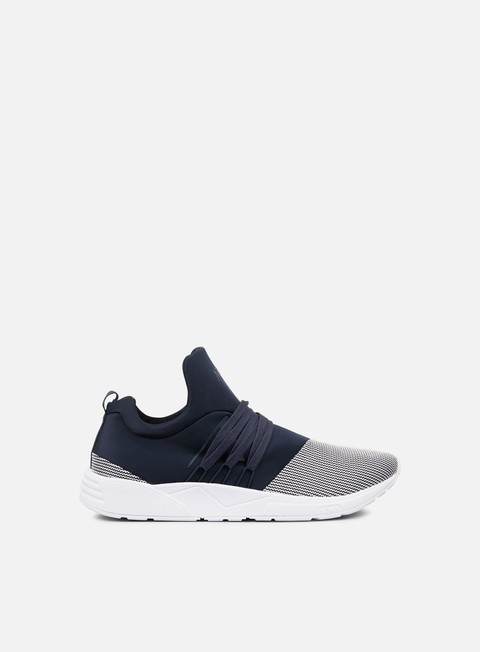 sneakers arkk raven midnight off white mesh