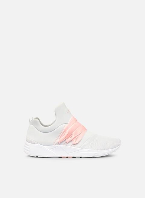 sneakers arkk wmns raven mesh velvet s e15 white soft rose