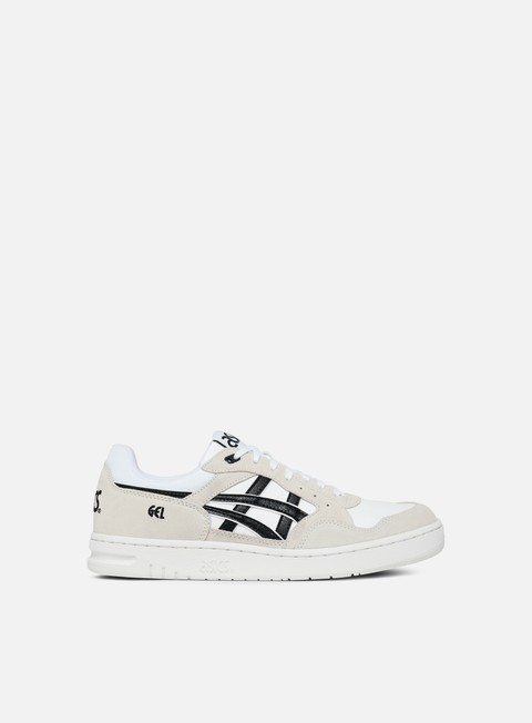 sneakers asics gel circuit white black