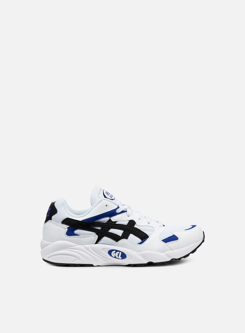 sneakers asics gel diablo white black