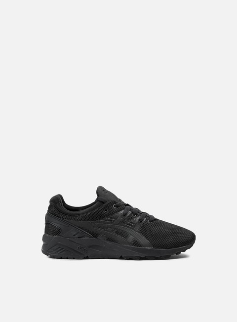 sneakers asics gel kayano trainer evo black black