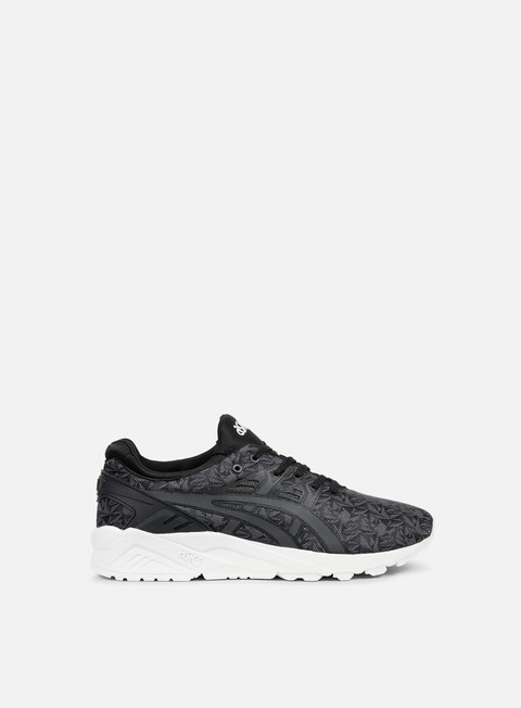sneakers asics gel kayano trainer evo black dark grey origami
