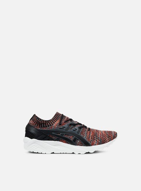 sneakers asics gel kayano trainer knit carbon black