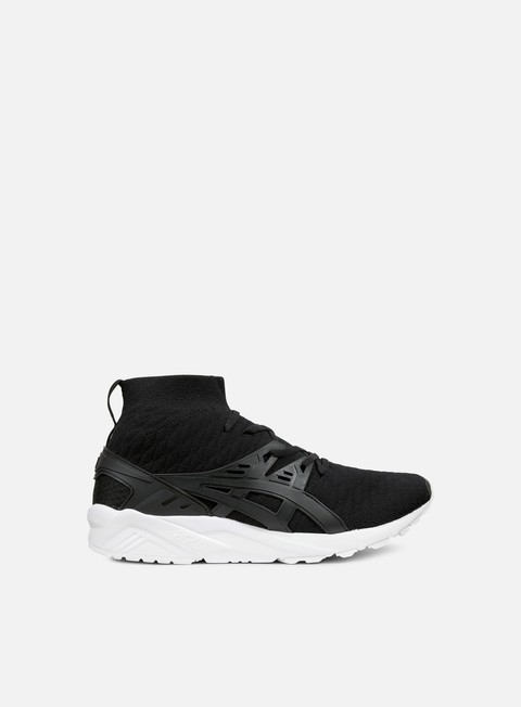 sneakers asics gel kayano trainer knit mt black black