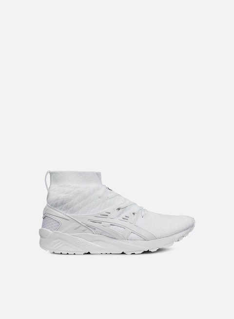 sneakers asics gel kayano trainer knit mt white white