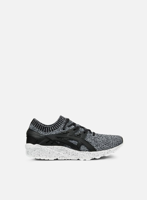 sneakers asics gel kayano trainer knit white black