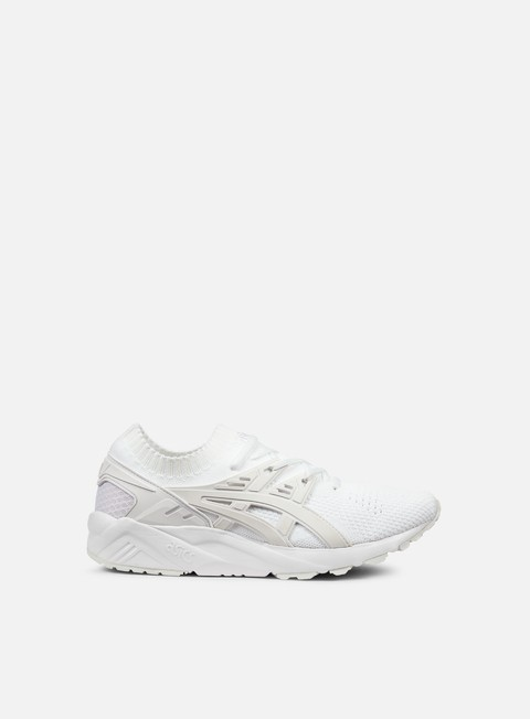 sneakers asics gel kayano trainer knit white white