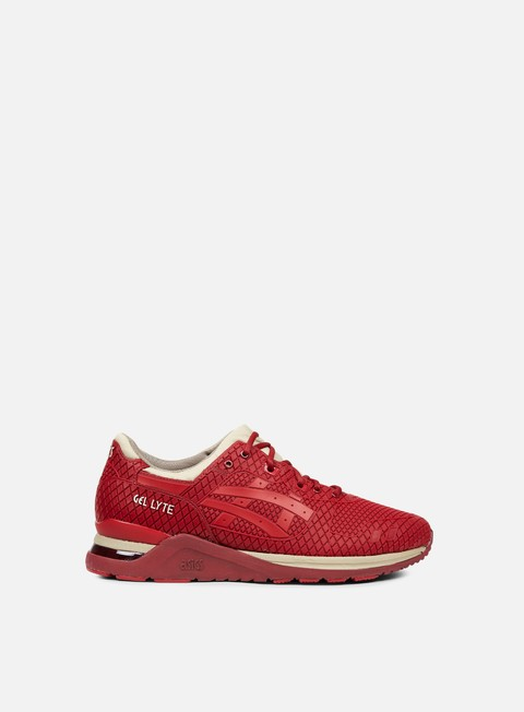 sneakers asics gel lyte evo burgundy tango red