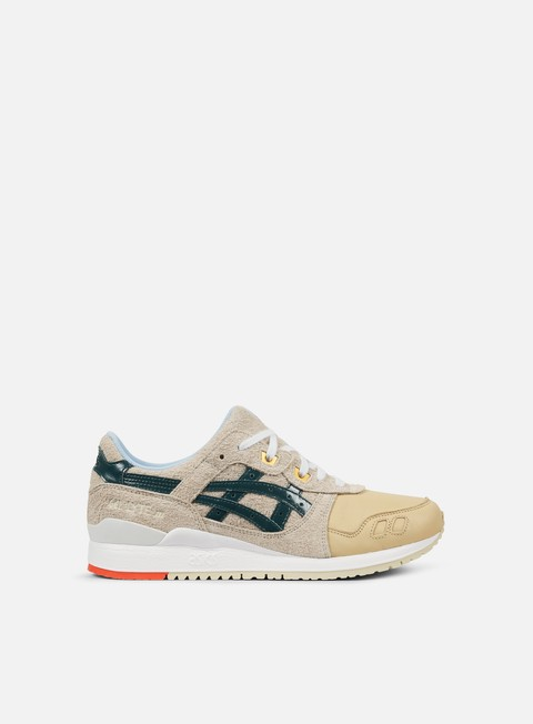 sneakers asics gel lyte iii birch hampton green
