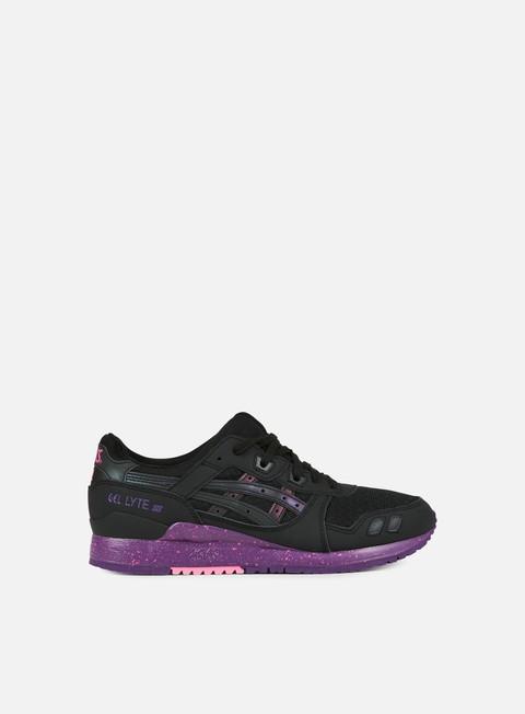 sneakers asics gel lyte iii black black borealis