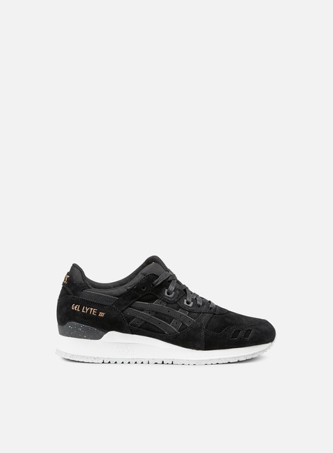 sneakers asics gel lyte iii black black rose gold