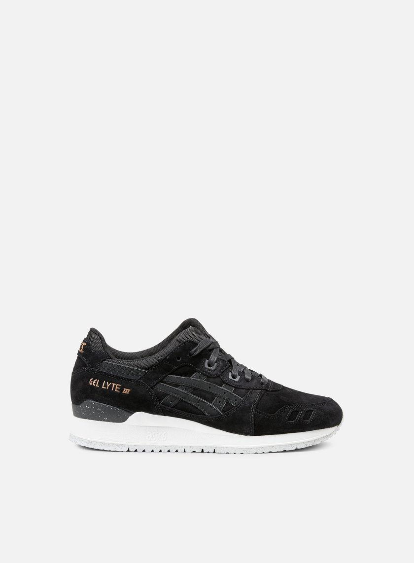 Asics - Gel Lyte III, Black/Black/Rose Gold