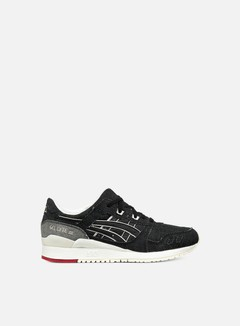 Asics - Gel Lyte III, Black/Black/Selvedge Denim 1