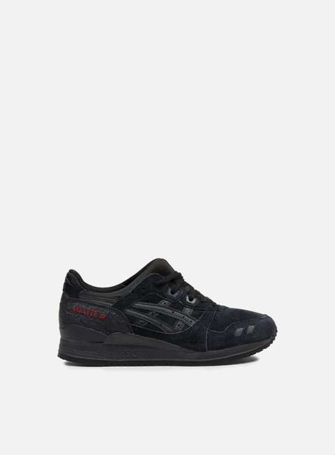 sneakers asics gel lyte iii black black valentine