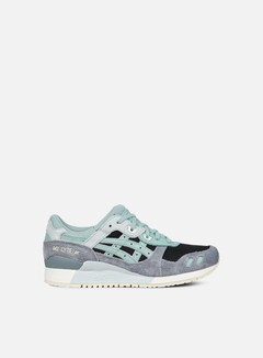 Asics - Gel Lyte III, Black/Blue Surf