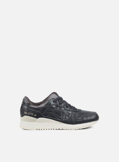sneakers asics gel lyte iii dark grey dark grey