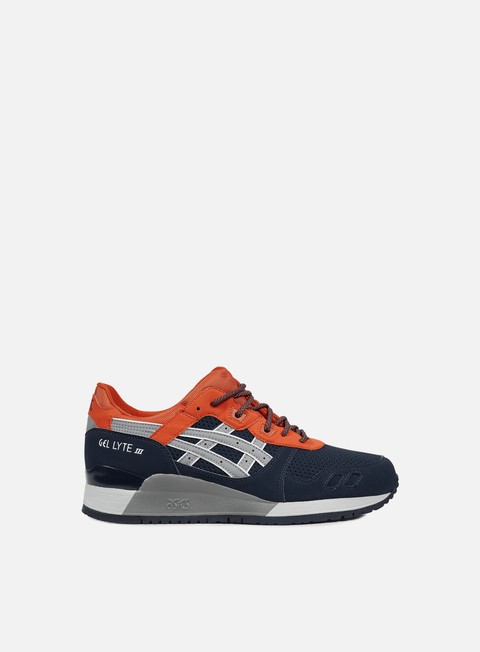 sneakers asics gel lyte iii indian ink mid grey