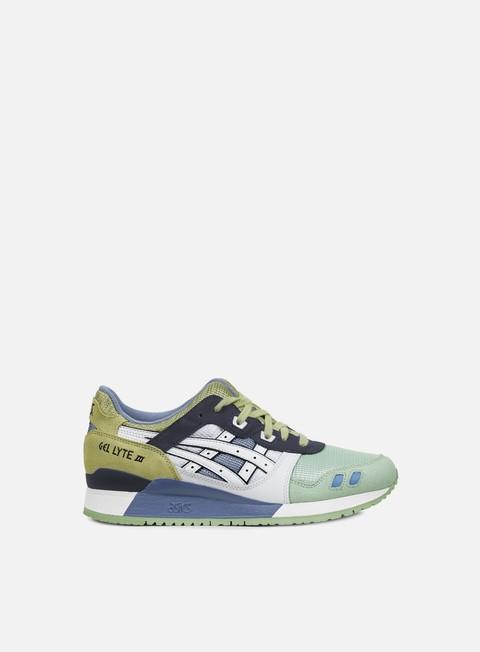 sneakers asics gel lyte iii white white japanese garden