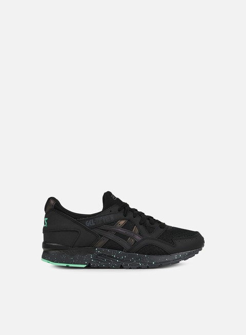 sneakers asics gel lyte v black black green