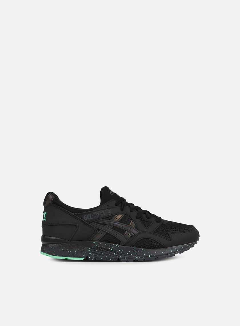 Asics - Gel Lyte V, Black/Black/Green