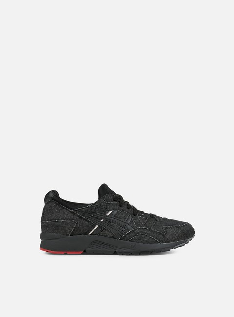 sneakers asics gel lyte v black black selvedge denim