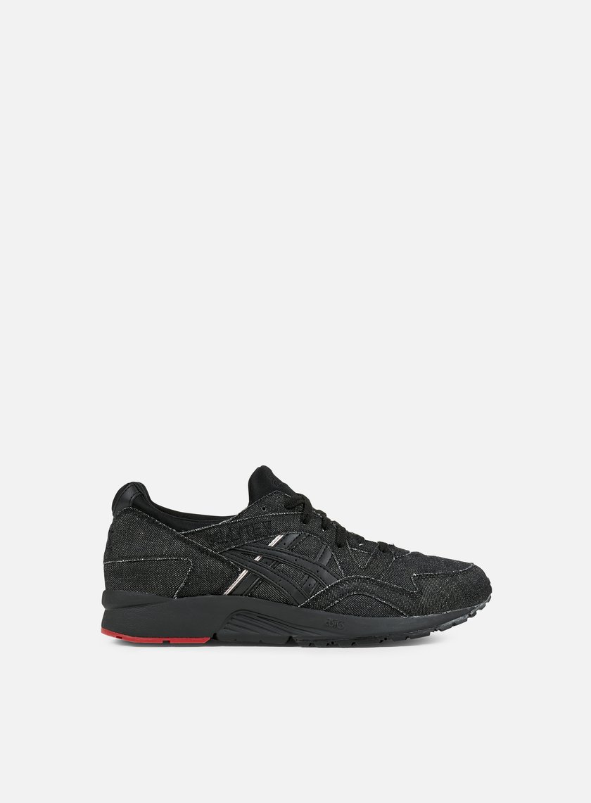 Asics - Gel Lyte V, Black/Black/Selvedge Denim