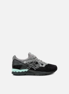Asics - Gel Lyte V, Black/Black/Teal 1